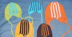 Strikkoman: CPAP-hat, sidelæns