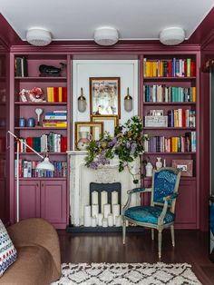 Фотография: в стиле , Квартира, Проект недели, Москва, Надя Зотова, Кирпичный дом, 2 комнаты, 40-60 метров, студия Enjoy Home – фото на InMyRoom.ru