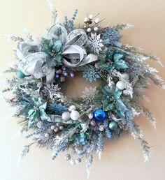 Christmas Wreath OOAK CUSTOM WREATHYou choose the by OnceUponADoll, $50.00