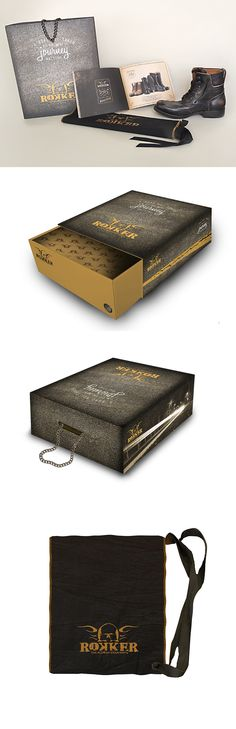 Scatola da scarpe per Rokker, un progetto #effADV - Rokker shoe box, effADV project - #packaging