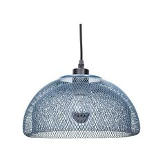 Illuminate your living room or study with this minimal pendant light by Fundamental Berlin, crafted from steel and featuring a netted bowl design.