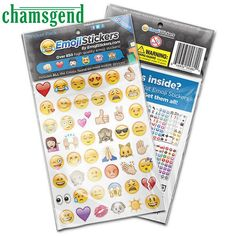 Stationery Stickers Good 10pcs Smile Face Funny Paper Lable Laptop Sticker Classic Notebook Stickers Kids Gift Toy Elegant And Sturdy Package