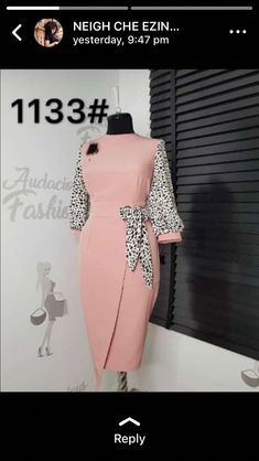 Most of us choose African Ankara designs that give us the freedom and comfort … - corporate attire women Classy Work Outfits, Classy Dress, Chic Outfits, Dress Outfits, Fashion Outfits, African Wear Dresses, Latest African Fashion Dresses, English Dress, Elegant Dresses