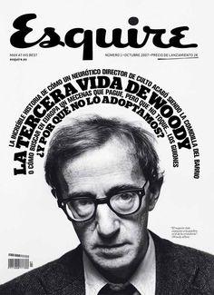 Esquire: Woody Allen.