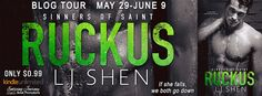 Renee Entress's Blog: [Blog Tour + Review] Ruckus by LJ Shen