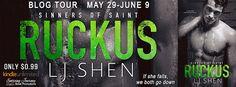 Abibliophobia Anonymous                 Book Reviews: **BLOG TOUR**  Ruckus by L.J. Shen