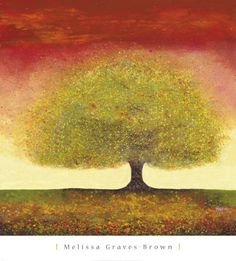 Dreaming Tree Red - Melissa Graves-Brown