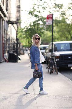 Style...Charlotte Groeneveld | THEFASHIONGUITAR // casual denim