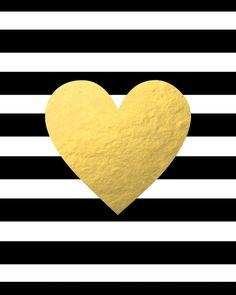 Gold Heart Art Print by BySamantha Gold Wallpaper Background, Heart Wallpaper, Love Wallpaper, Gold Pineapple Wallpaper, Funny Iphone Wallpaper, Fashion Wall Art, Art Prints Quotes, Heart Art, Cute Wallpapers