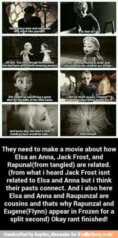 Elsa and Jack. Blah de blah