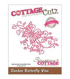 Cottagecutz Elites Die Garden Butterfly Vine