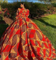 Ankara prom dressAfrican prom dressAfrican fashionReady to | Etsy African Prom Dresses, African Dress, Ankara Gowns, African Inspired Fashion, African Fashion, Ankara Fashion, African Style, Fashion Dresses, African Print Wedding Dress