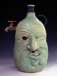 Face Jug with Spigot by Rosemary Griggs3