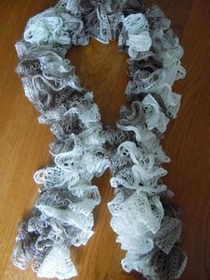 Easy crochet ruffle scarf tutorial with pictures crochet ruffle sashay yarn ruffle scarf crochet pattern this vid is easier http dt1010fo