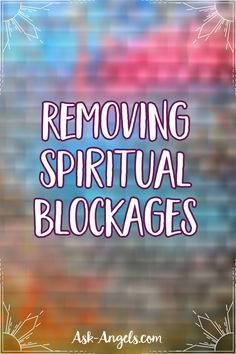 What is a spiritual blockage? Its essentially an energetic imprint of density and heaviness in your energy field. Spiritual blockages are created from the residue of heavy emotions, past trauma, or pain that when stuck in your energy body, keeps you from aligning with your full spiritual potential and highest Truth. Spiritual Guidance, Spiritual Awakening, Wicca, Magick, Higher Truth, Free Angel, Angels Among Us, Angel Cards, Sombre