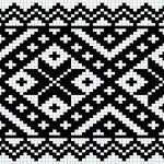 Kvarder i smøyg – Vevstua Bull-Sveen Cross Stitch Borders, Cross Stitching, Cross Stitch Patterns, Tapestry Crochet Patterns, Loom Patterns, Knitting Charts, Knitting Stitches, Hardanger Embroidery, Cross Stitch Embroidery