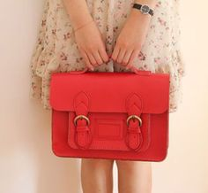 Leather Satchel - comes in different colors.