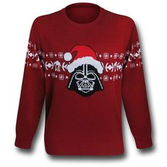 Star Wars Darth Vader Santa Christmas Sweater Sweatshirt, my bby would love this XD