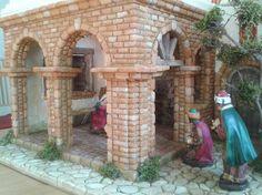 Foro de Belenismo - Pintura -> Pintar ladrillos
