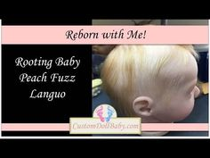Reborn with Me! Part 16: How to Mircro Root Mohair on Reborn Dolls - YouTube