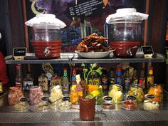 Best Build Your Own Bloody Mary Bars In San Diego! Bloody Mary Bar, Best Build, Build Your Own, Pizza Recipe Video, Whiskey Cake, Healthy Cookie Dough, Bloody Mary Recipes, Easy Sugar Cookies, Healthy Peanut Butter