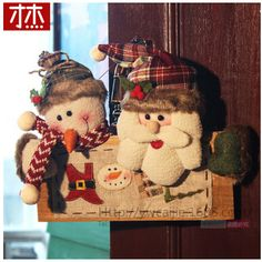 2017 Navidad Christmas Christmas Decorations for Home Christmas Drop Ornament For Door Christmas Gift Christmas Crafts, Christmas Decorations, Christmas Ornaments, Holiday Decor, Christmas Christmas, Festival Party, Christmas Stockings, Party Supplies, Snowman