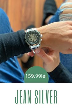 Elegant men& watch JEAN SILVER - Rapid - Numerous happy customers tell us how satisfied they are with the purchase of the JEAN SILVER – Rap - Trendy Watches, Watches For Men, Elegant Man, Mens Fashion, Silver, Tack, Happy, Fashion Styles, Tech Gadgets