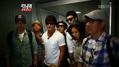 Introducing Running Man: Episode 50 » Dramabeans » Deconstructing korean dramas and kpop culture. . Bangkok Thailand. Guest - Kim Min-jung & Nichkhun (2PM). Part 1 of 2 episodes.  ~ from left to righ - Yoo Jae-suk, Kang Gary, Kim Jong-kook, (directly behind Jong-kook) HaHa, Lee Kwang-soo, Song Ji Hyo, and Ji Suk-jin.