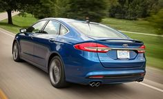 2017 Ford Fusion Sport The 325-hp family sedan is here.