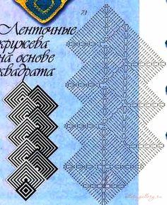 Best 12 Granny Square Runner Pattern Diagram and Inspiration Modern Crochet Patterns, Crochet Motifs, Crochet Diagram, Afghan Crochet Patterns, Crochet Chart, Crochet Squares, Free Crochet, Motifs Granny Square, Granny Squares