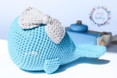 Stuffed whale toy, blue whale, baby rattle crochet, toddler toy, cuddly baby, whale for baby room, cute rattle, baby gift, soft toys, baby, Toddler And Baby Room, Toddler Toys, Blue Whale, Baby Rattle, Crochet Toddler, Baby Gifts, Dinosaur Stuffed Animal, This Or That Questions, Cute