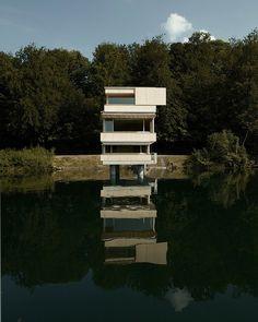Lake Rotsee Refuge | Lucerne, Switzerland | Andreas Fuhrimann Gabrielle Hächler Architekten ETH/BSA
