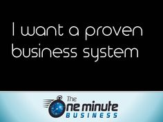"Promotional Materials for ""The One Minute Business"" that You Can Share Online"