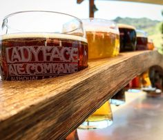 Flight @ladyfaceale - this place is bomb y'all. Good food great beers pretty scenery. #agourahills #brewery #beer