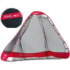 Rukknet: The Original Pop-Up Golf Net with Ball Return Feature, 10x7x5