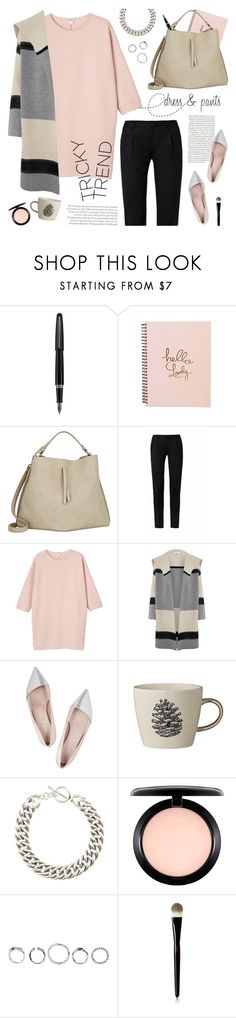 """dress & pants"" by jesuisunlapin ❤ liked on Polyvore featuring Fountain, Maison Margiela, Topshop, Yves Saint Laurent, Monki, Vince, Giambattista Valli, Bloomingville, MAC Cosmetics and women's clothing"