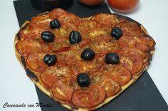 Cocinando con Montse: Receta de  coca de tomate