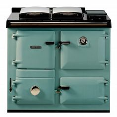 Rayburn 300 Series Wood Burning Cooker Only Model. Cast Iron Wood Burning Cooker with Lower Warming Oven and Cast Iron Hotplate Rayburn Cookers, Aga Cooker, Going Home, Kitchen Flooring, Wood Burning, Home Kitchens, Stove, Locker Storage, Log Cabins