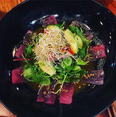Tuna carpaccio @tokyokitchesakae #jap #food #tuna #tataki #yum #melbourne #foodie #dining by sanna_melb