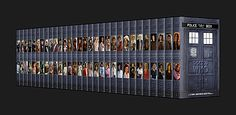 A custom Doctor Who - Complete Collection - set of 31 DVDs.