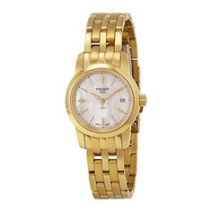 Just arrived Tissot Women's 'Classic Drean' Swiss Quartz and Gold-Tone-Stainless-Steel Automatic Watch, Color: (Model: T0332103311100)