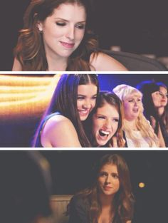 Anna Kendrick and the Bellas!