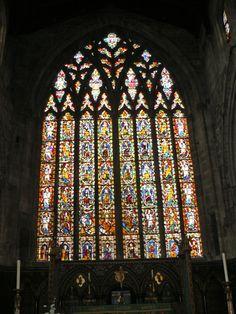 The Jesse Window c 1340 St Mary's Church