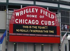 The Pressure Is On The Chicago Cubs...And This Time They're Ready ...
