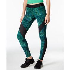 b190746a376c Nike Pro Hypercool Dri-fit Tidal Multi Print Leggings ( 70) ❤ liked on  Polyvore featuring pants