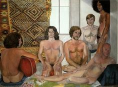 At The Turkish Bath, 1976 © Sylvia Sleigh