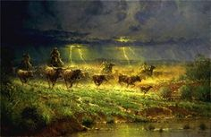 Rawhide and Thunder by G. Harvey