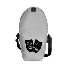 Purchase your next Theatre Faces messenger bag from Zazzle. Choose one of our great designs and order your messenger bag today! Cool Messenger Bags, Skull And Crossbones, Halloween Skull, Theatre, Amethyst, Backpacks, Gifts, Faces, Presents