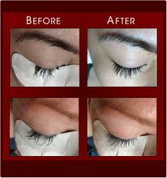"""1516a401f05 Here are just two of our recent """"lash cases"""" where your LIVE LOVE LASH  stylists have been able to correct lash extensions that were improperly  applied at ..."""
