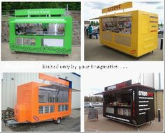 food truck equipment - Buscar con Google Container Restaurant, Container Cafe, Food Cart Design, Food Truck Design, Food Truck Equipment, Food Trailer For Sale, Food Kiosk, Food Truck Business, Dining Services